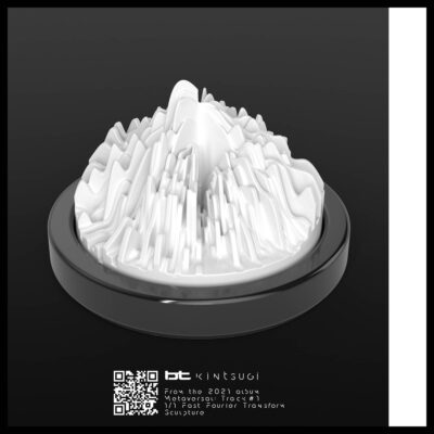 BT Sculpture NFT Render (01 Kintsugi)